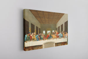 Philly Last Supper Canvas | Philadelphia Foles Last Supper Wall Canvas the front of this canvas has the foles last supper