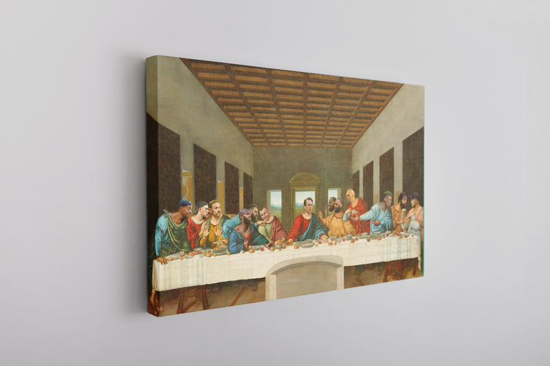 Philly Last Supper Canvas | Philadelphia Foles Last Supper Wall Canvas