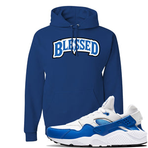 Huarache DNA Series Hoodie | Royal, Blessed Arch