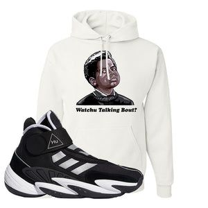 Pharrell X Crazy BYW Hu Hoodie | Watchu Talking Bout, White