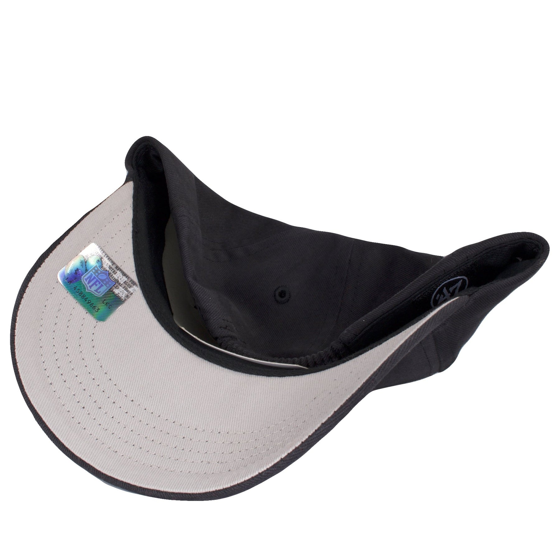 c0824dc567f ... the under brim of the infant sized philadelphia eagles throwback dad hat  is gray ...