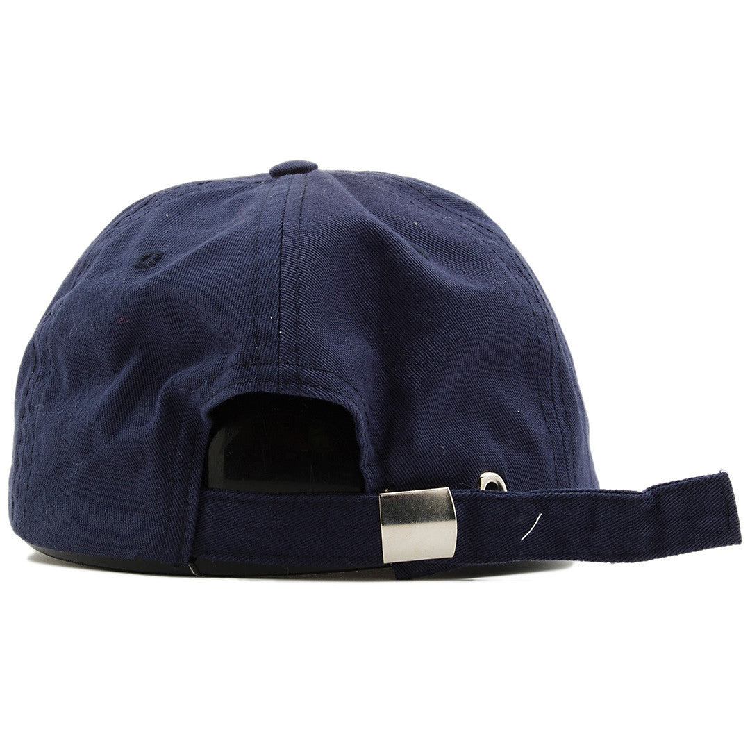 ... on the back of the jordan 4 dunk from above dad hat is a navy blue ... dbad5065970