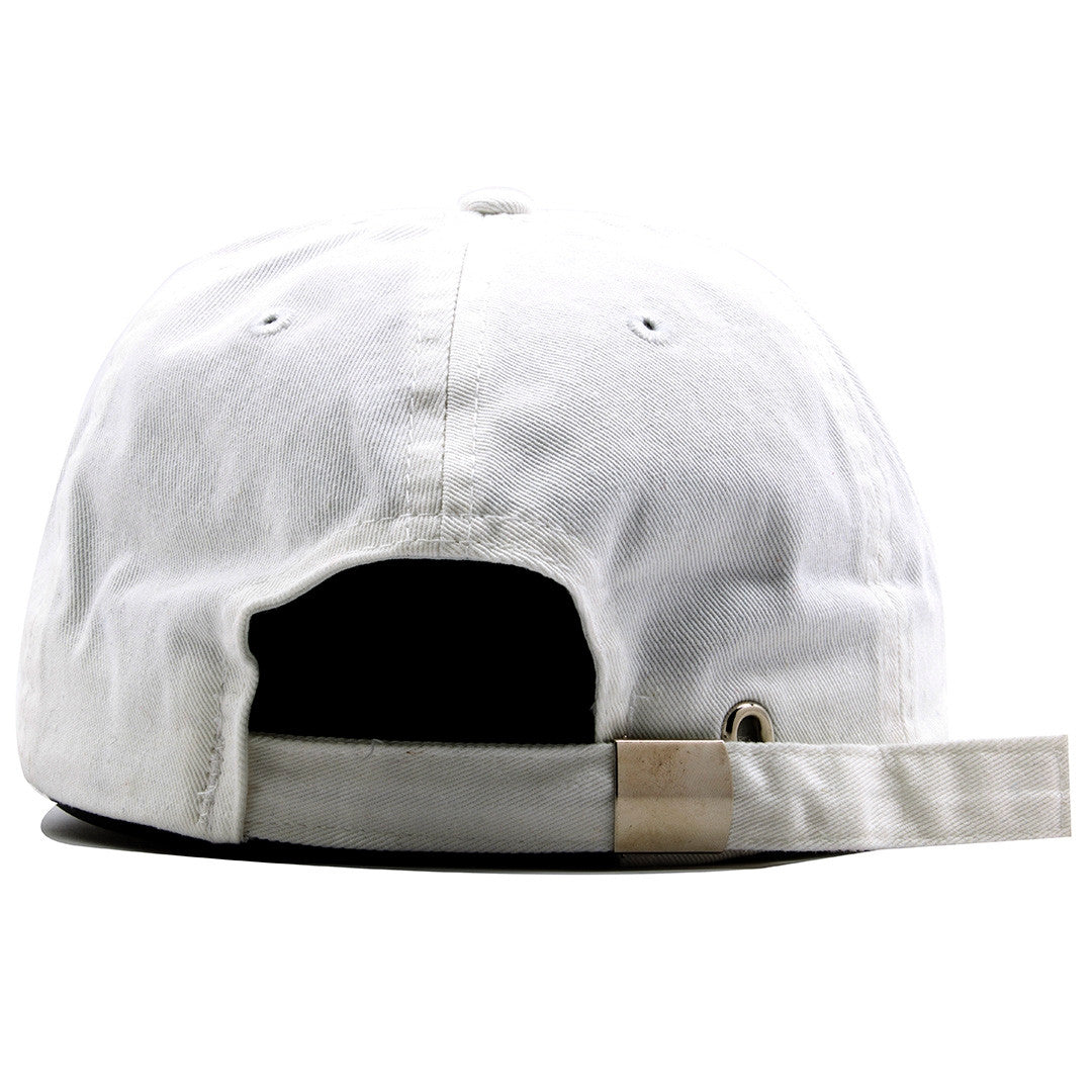 0da0fd224b2284 ... the french blue jordan 12 matching 23 ball cap dad hat has a white  adjustable strap ...