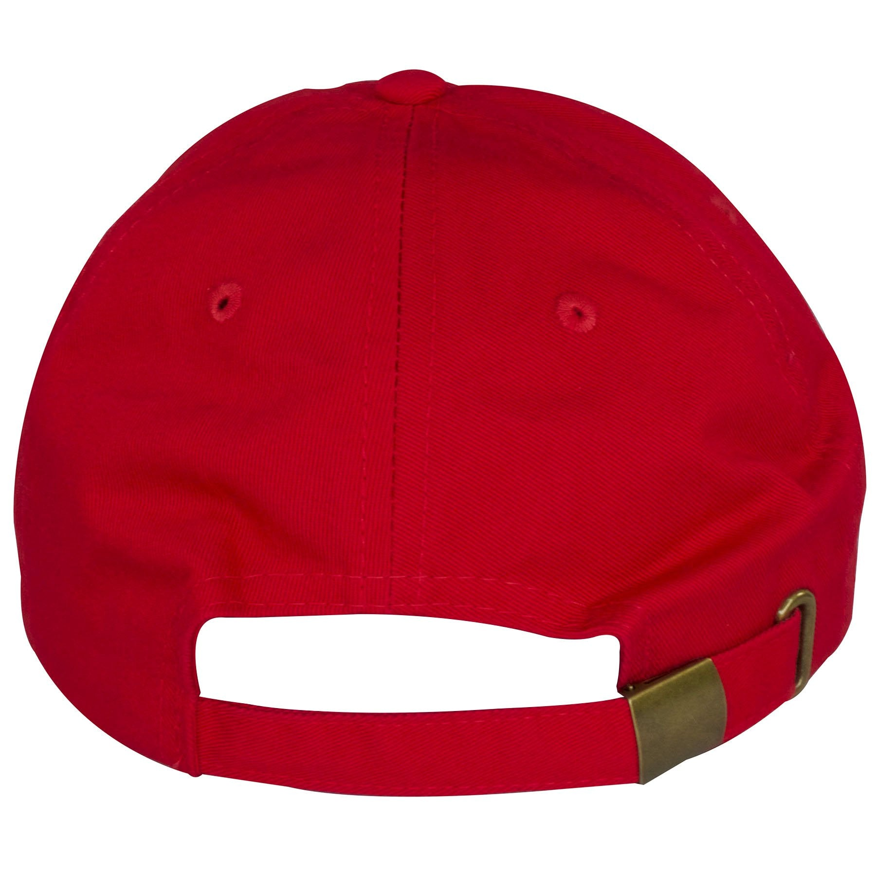 8611a039e996 authentic the back of this jordan 11 96 red hat shows an adjustable red  buckle strap