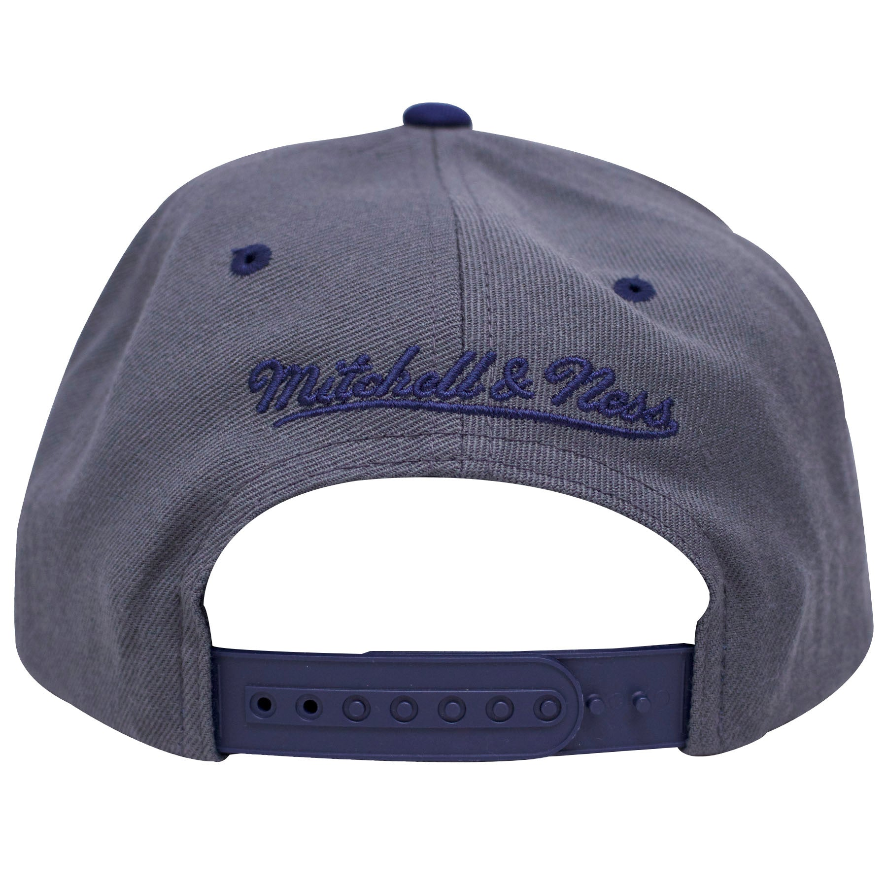 4ba6cf554b3 the Air Jordan 13 flint sneaker matching snapback crown has a gray crown  and a navy · on the back of the chicago bulls gray snapback hat there is a  navy ...