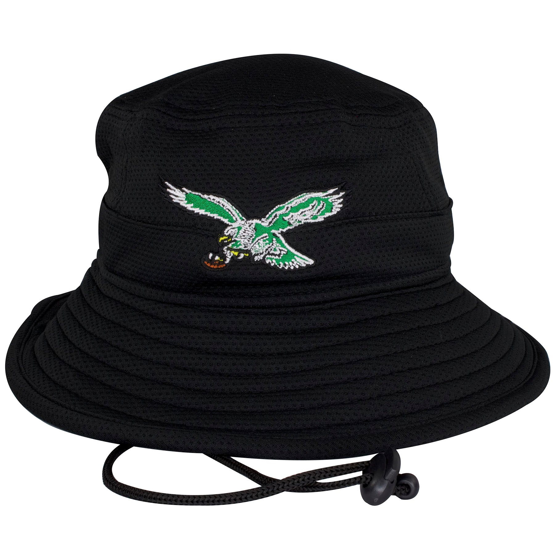 32274aa63a0 ... Bucket Hat.  29.99. This Philadelphia Eagles hat shows a vintage  Philadelphia Eagles bird logo embroidered on the front.
