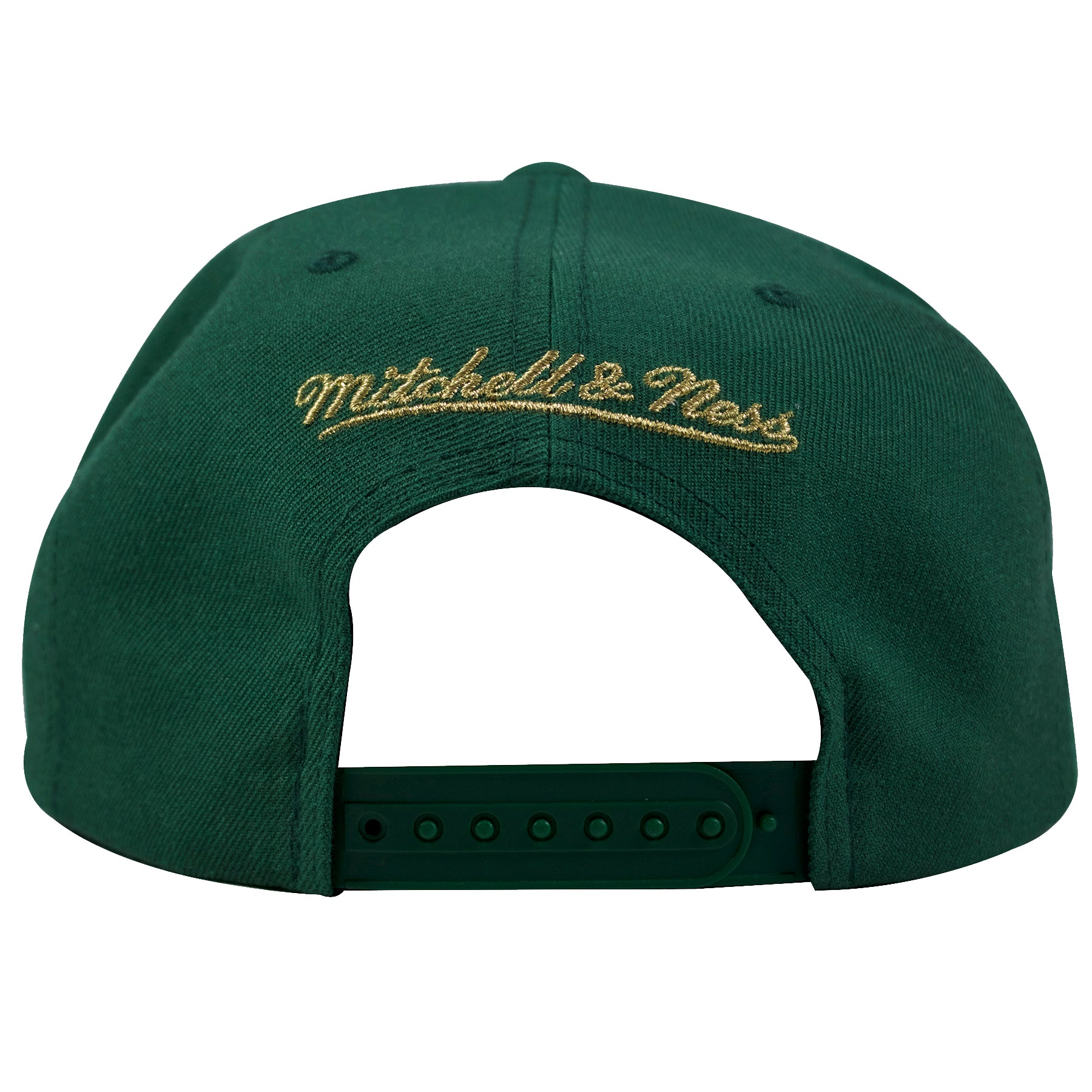 7e211d286c7 ... on the back of the Philadelphia Union irish inspired four leaf clover  snapback hat is the ...