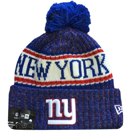 online retailer 9347e 98a66 Embroidered on the front of the 2018 New York Giants on field sideline cold  weather winter