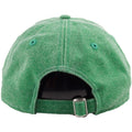 On the back of the Philadelphia Eagles throwback kelly green rugged dad hats is a kelly green adjustable strap