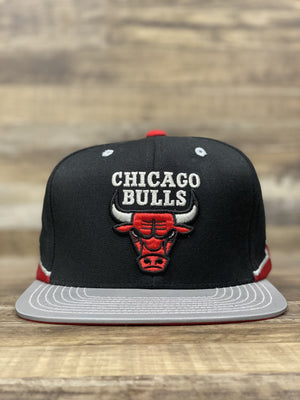 Front of Retro bulls logo and 3m reflective brim to match jordan 5 og reflective tongue
