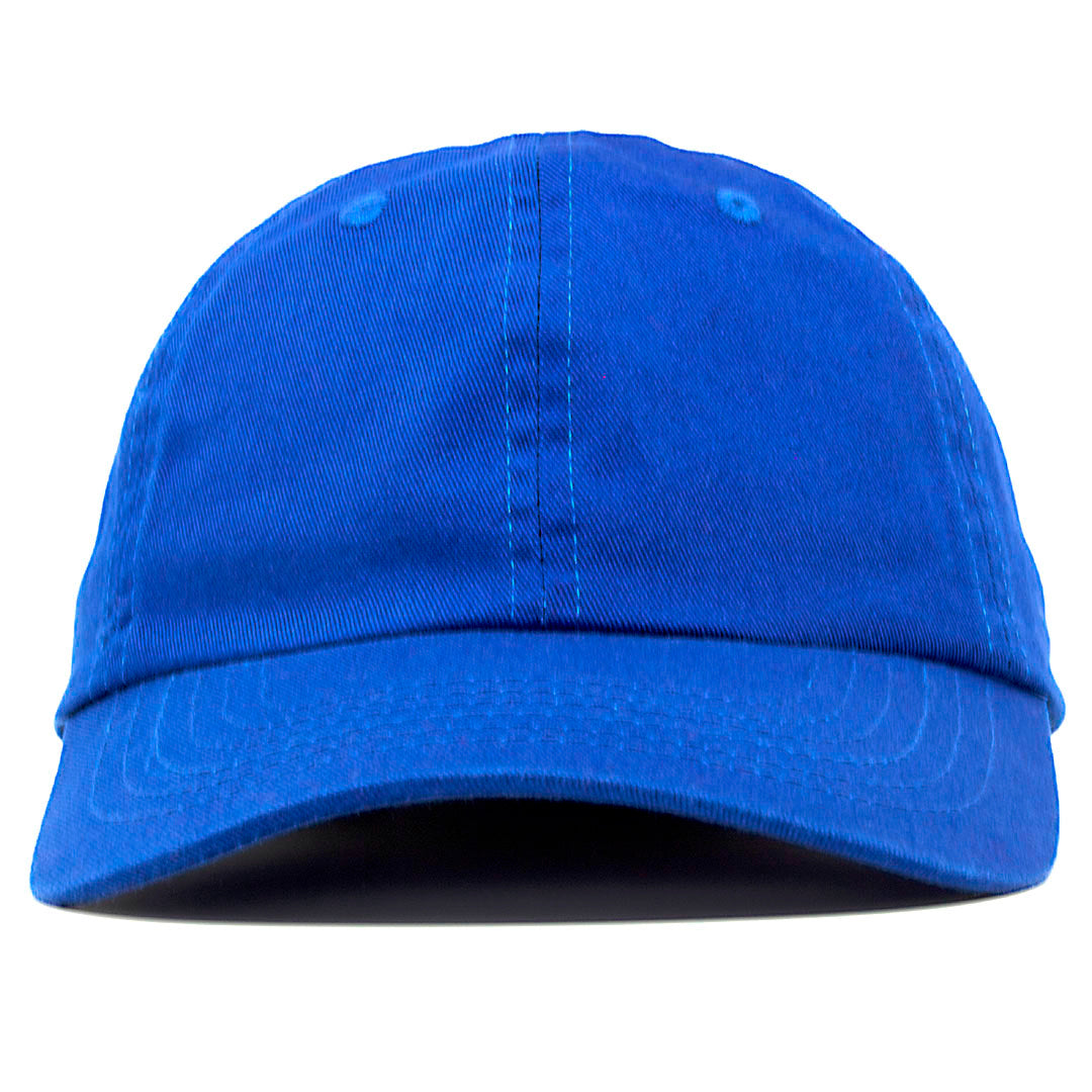 438c7b6416c The blank blue dad hat has no design on the front