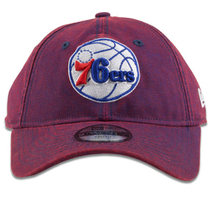 Philadelphia 76ers Purple Rugged Hue Adjustable 9Twenty Youth Sized Dad Hat