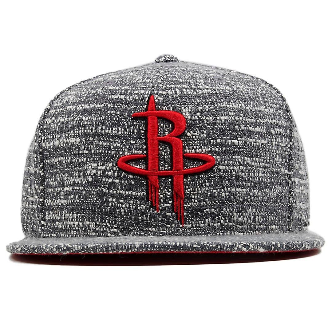 a4393452718 the houston rockets marbled grey noise concrete snapback hat has a red  houston rockets on the