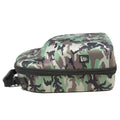 the new era camouflage cap carrier has a black zipper and a white new era logo