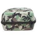 the 6 piece woodland cap carrier has a flat bottom