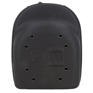 the new era 6 piece jet black cap carrier is solid black