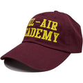 the bel air academy dad hat has a soft crown and a bent brim