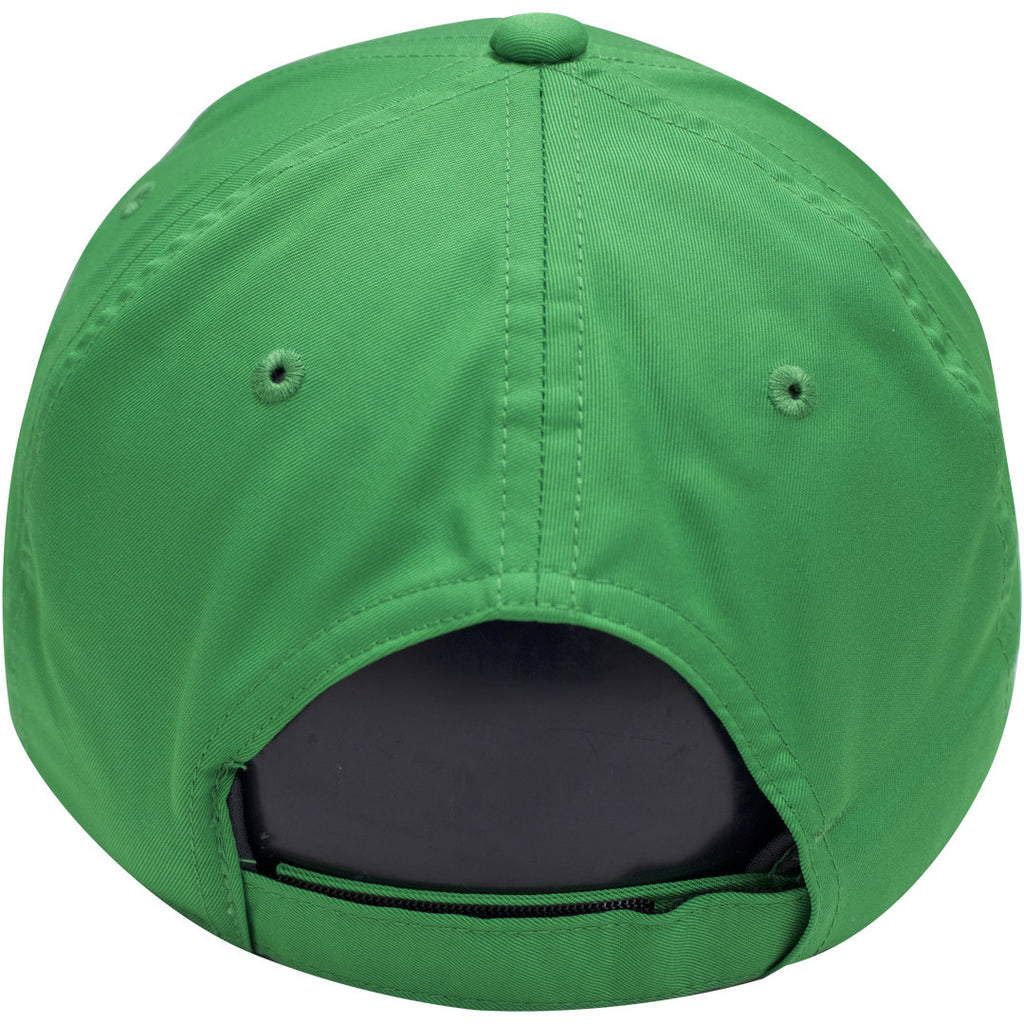 Nike Dri Fit Kelly Green With White Swoosh Golf Dad Hat