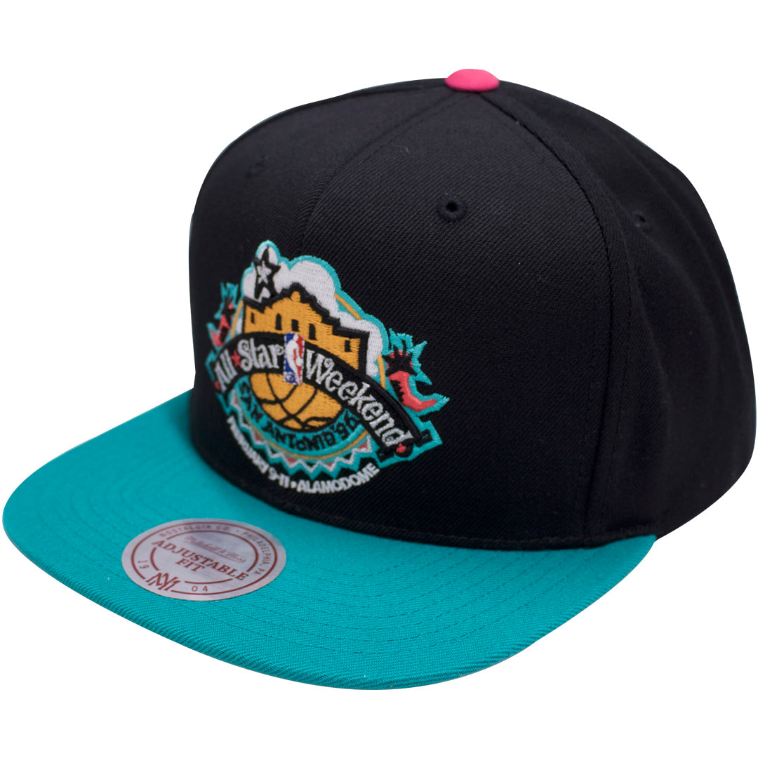 ... the 1996 all star weekend snapback hat has an all star weekend logo  embroidered on the ... 8f7e129ab1c8