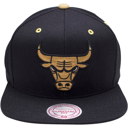 on the front of the chicago bulls snapback hat to match the air jordan 13 chutneys, is the chicago bulls logo in the chutney colorway