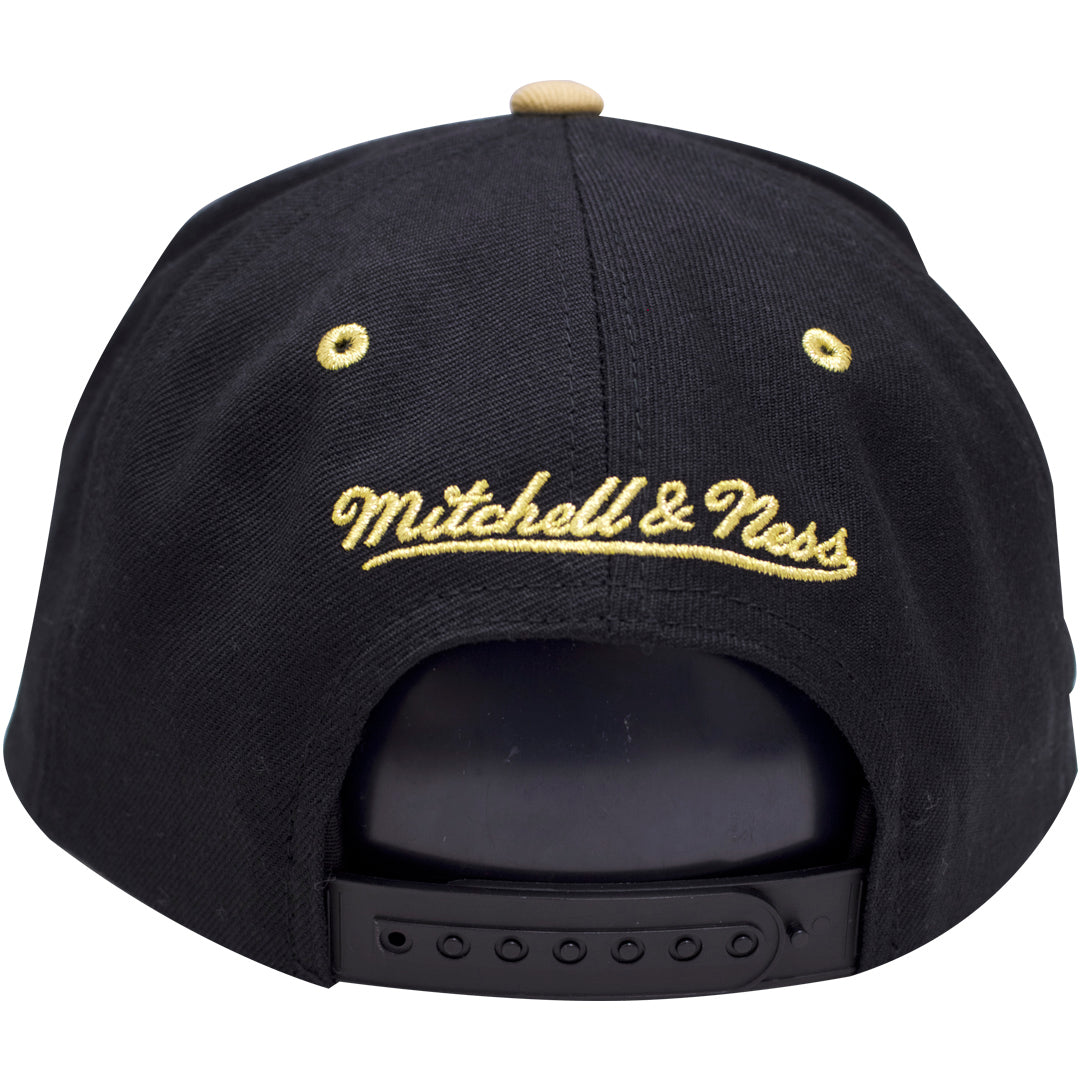 7e671c8947950c ... on the back of the chutney air jordan 13 snapback hat is the mitchell  and ness ...