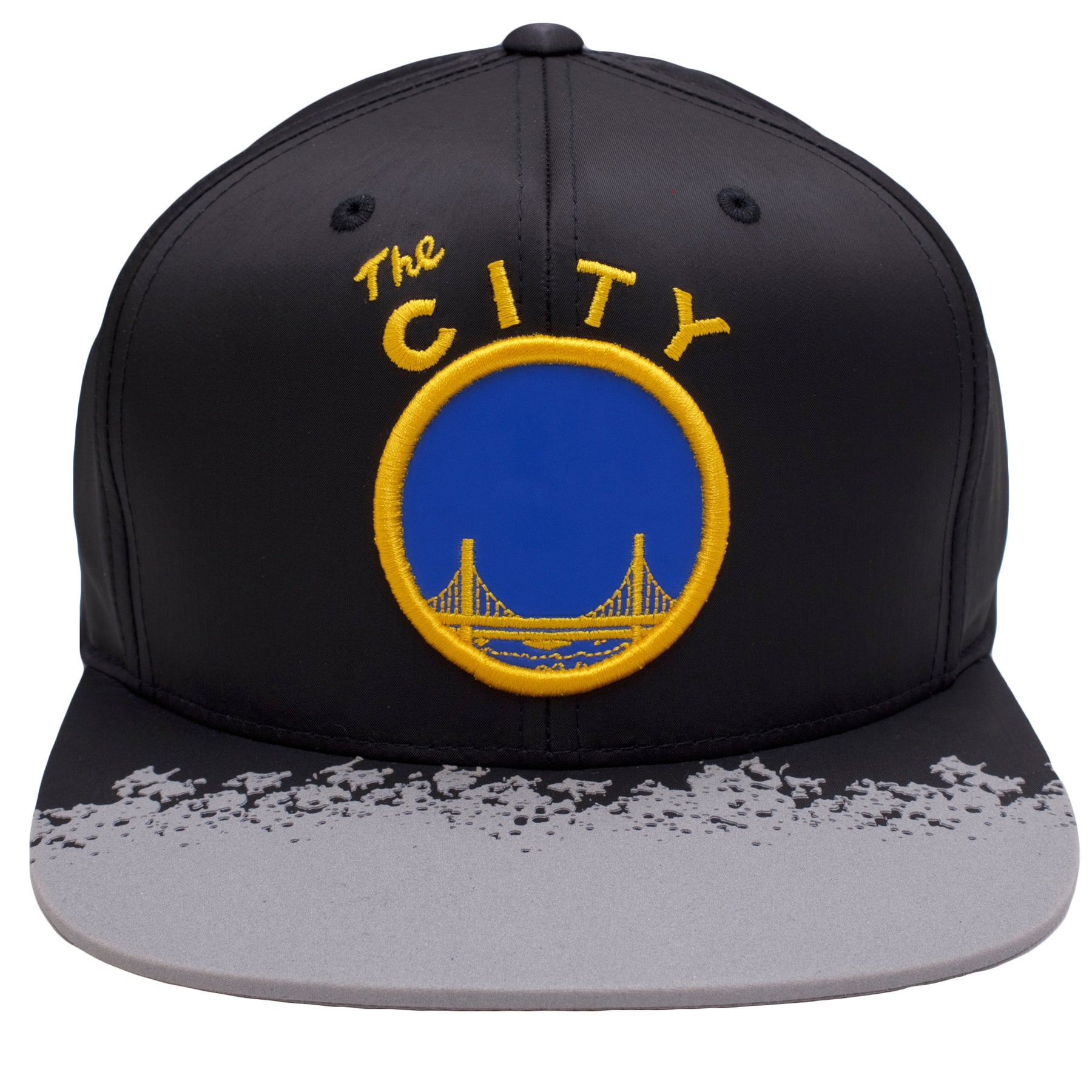 on the front of the golden state warriors reflective lava snapback hat 6560739b3e7