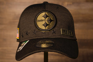 Steelers  2020 Salute To Service Flexfit | Pittsburgh Steelers Flex Hat this steelers hat is to raise awareness for our troops