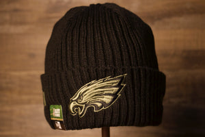 2020 Salute To Service Eagles Beanie | Philadelphia Eagles Military knitted Winter Hat this eagles beanie is made to raise awareness for the military