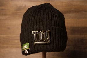 2020 Salute To Service Giants Beanie | New York Giants Military Knitted Winter Hat this giants beanie is meant to raise awareness for troops