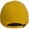 the back of the yellow lemonade dad hat, the adjustable strap is yellow