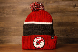 Devils Beanie | New Jersey Devils Winter this devils hat is red and black