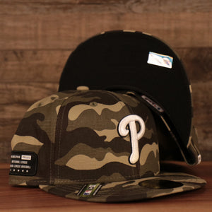 The Philadelphia Phillies Memorial Day 59Fifty hat 2021.
