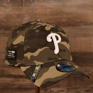 The Philadelphia Phillies Memorial Day 39thirty flexfit hat 2021 by New Era.
