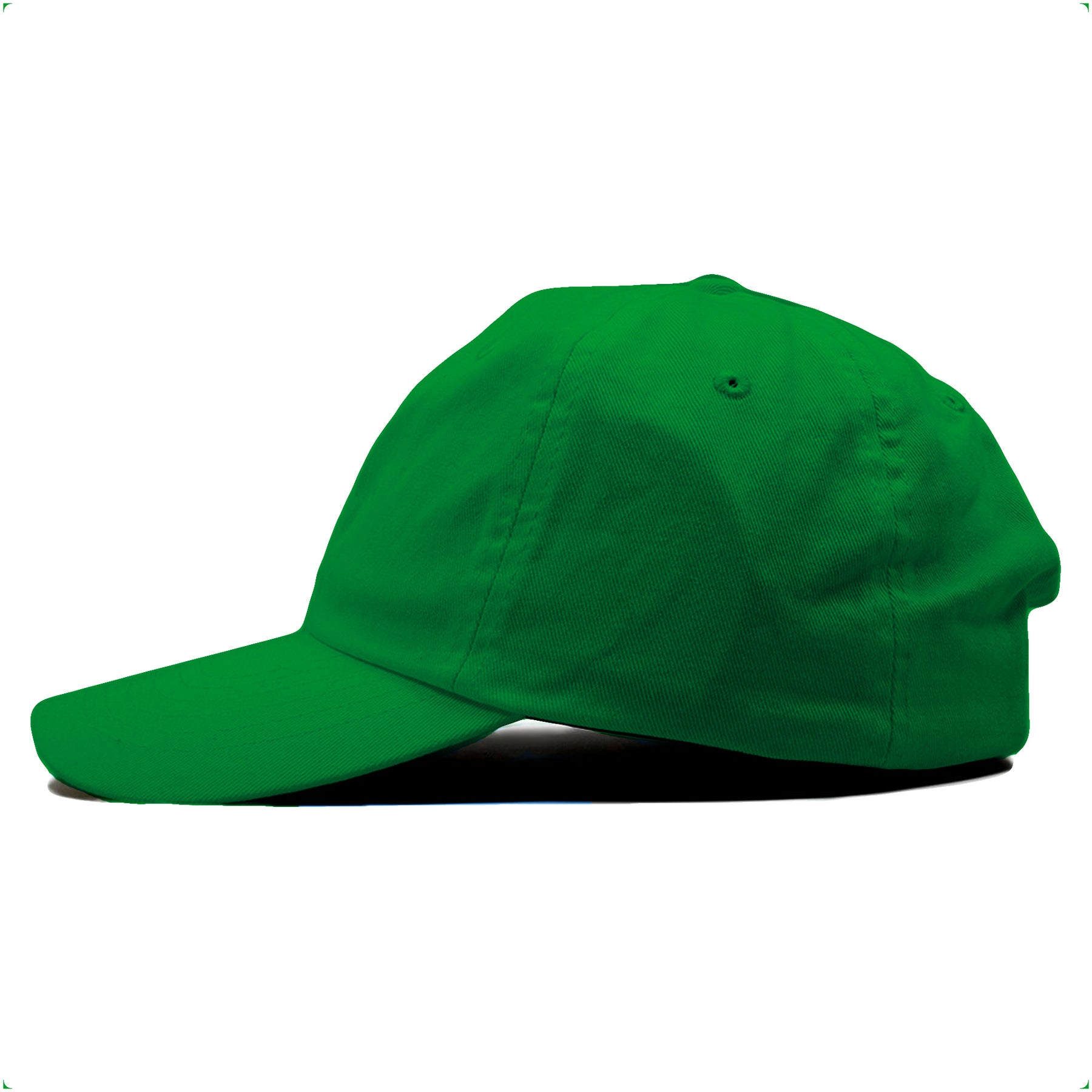 0b3e35225c2f8 ... The blank kelly green dad hat is solid kelly green and made of 100%  cotton ...