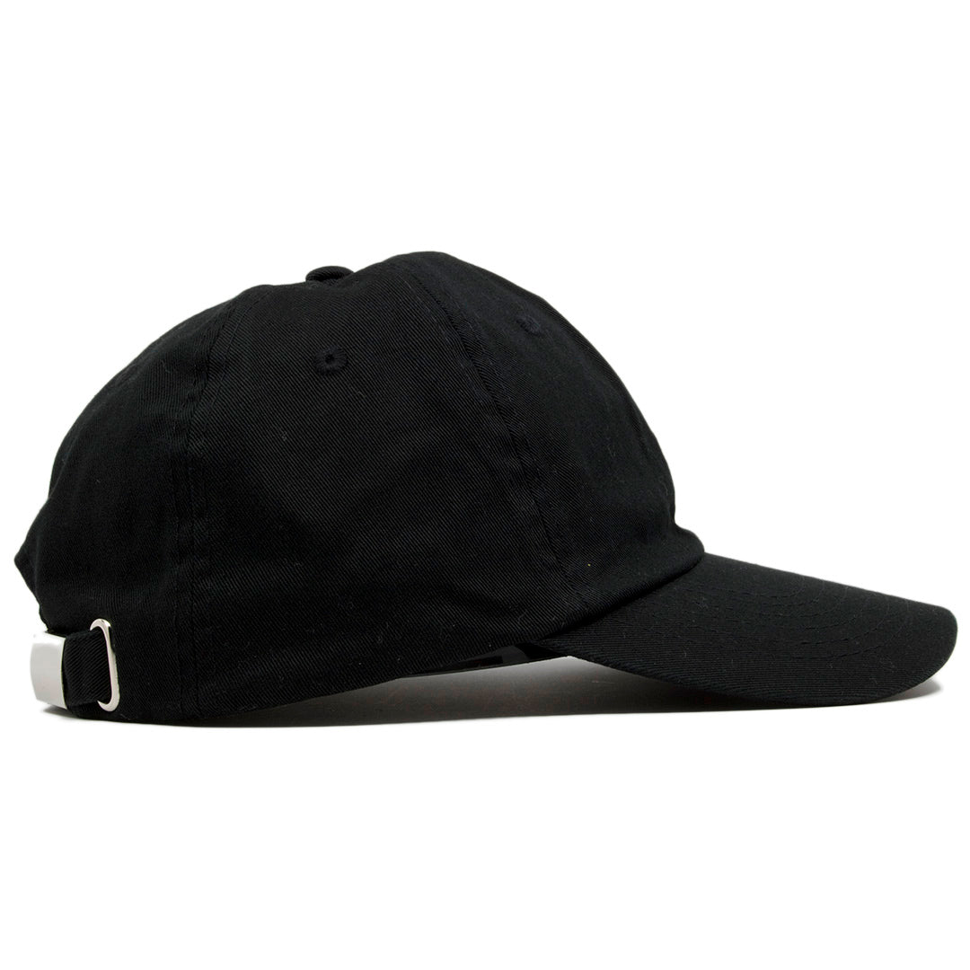 The blank black dad hat is solid black and made of 100% cotton. 3ac0ac82e40