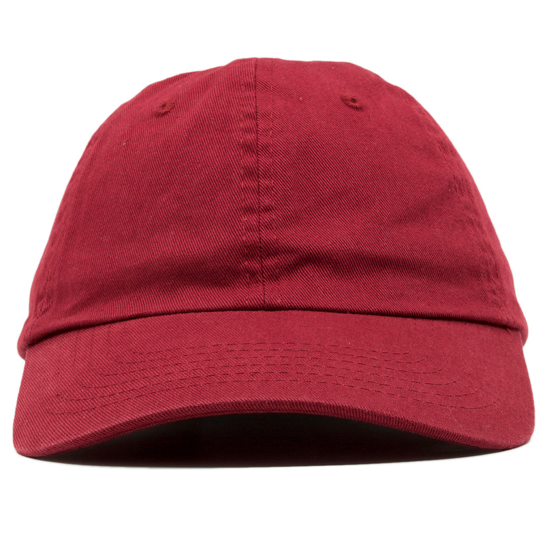 3f2b52b4f8dc5 The blank maroon dad hat has no design on the front