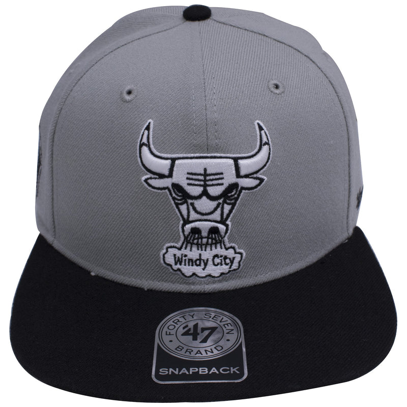 bc13e14cc2e8c on the front of the chicago bulls air jordan 4 og sneaker matching snapback  hat is