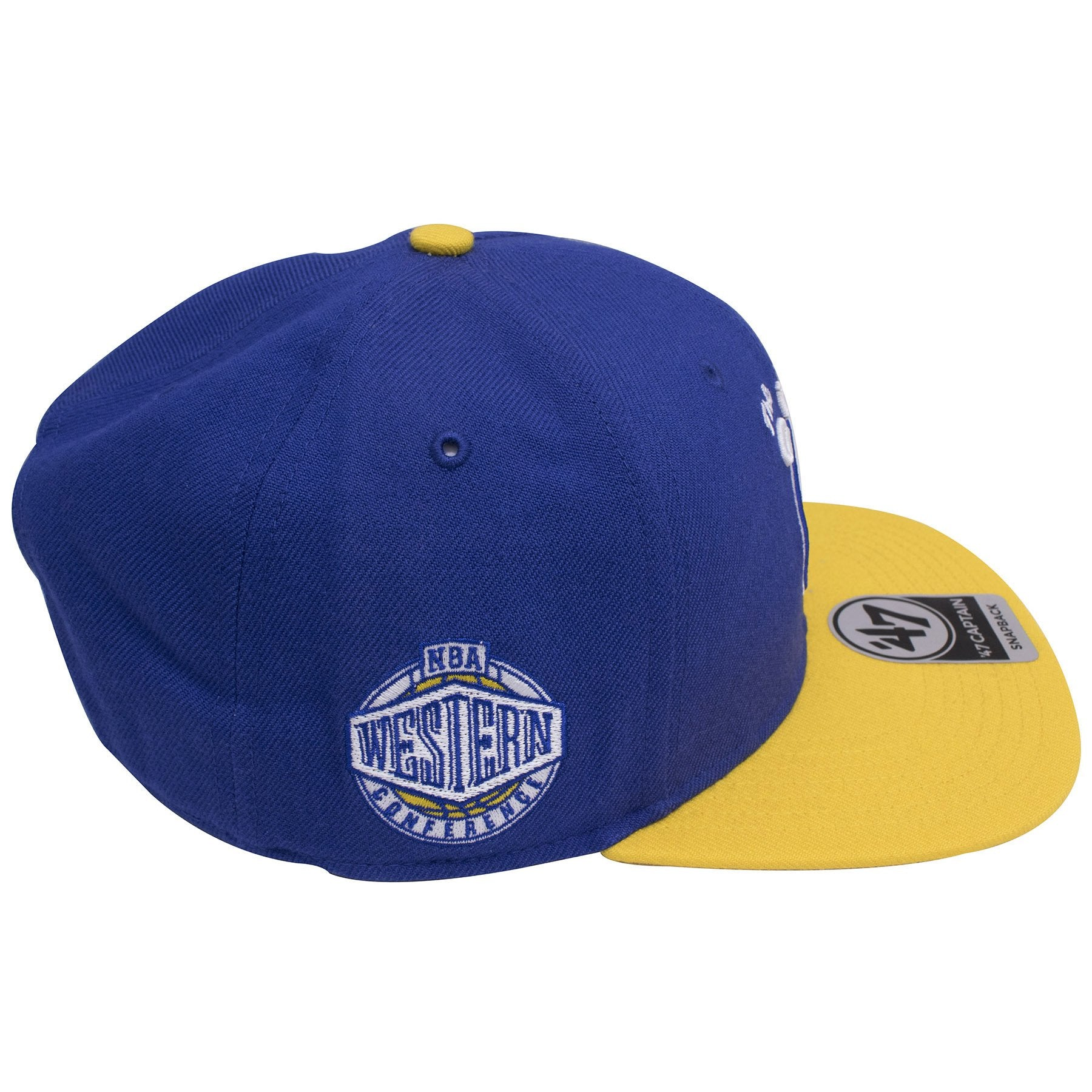 60eab4f5e4c ... sweden on the right side of the golden state warriors two tone the city  snapback 63064