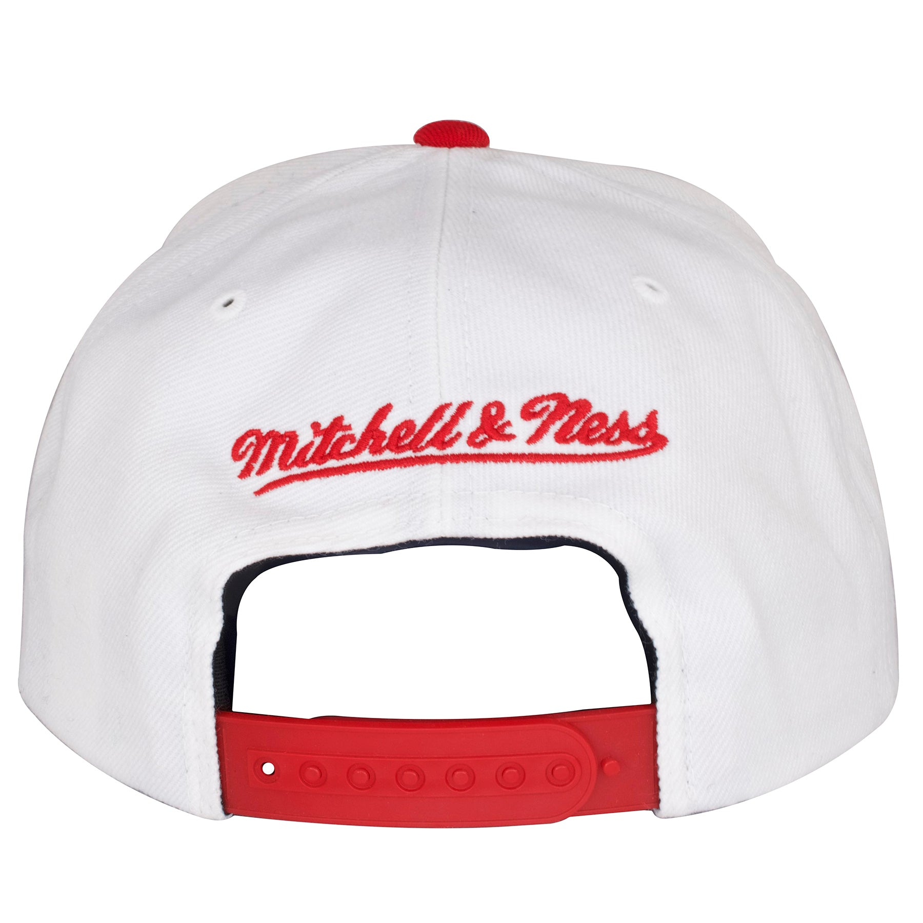 e06cd11504e ... jordan 11 sneaker matching snapback  the back of the chicago bulls win  like 96 sneaker matching snapback hat is a red ...