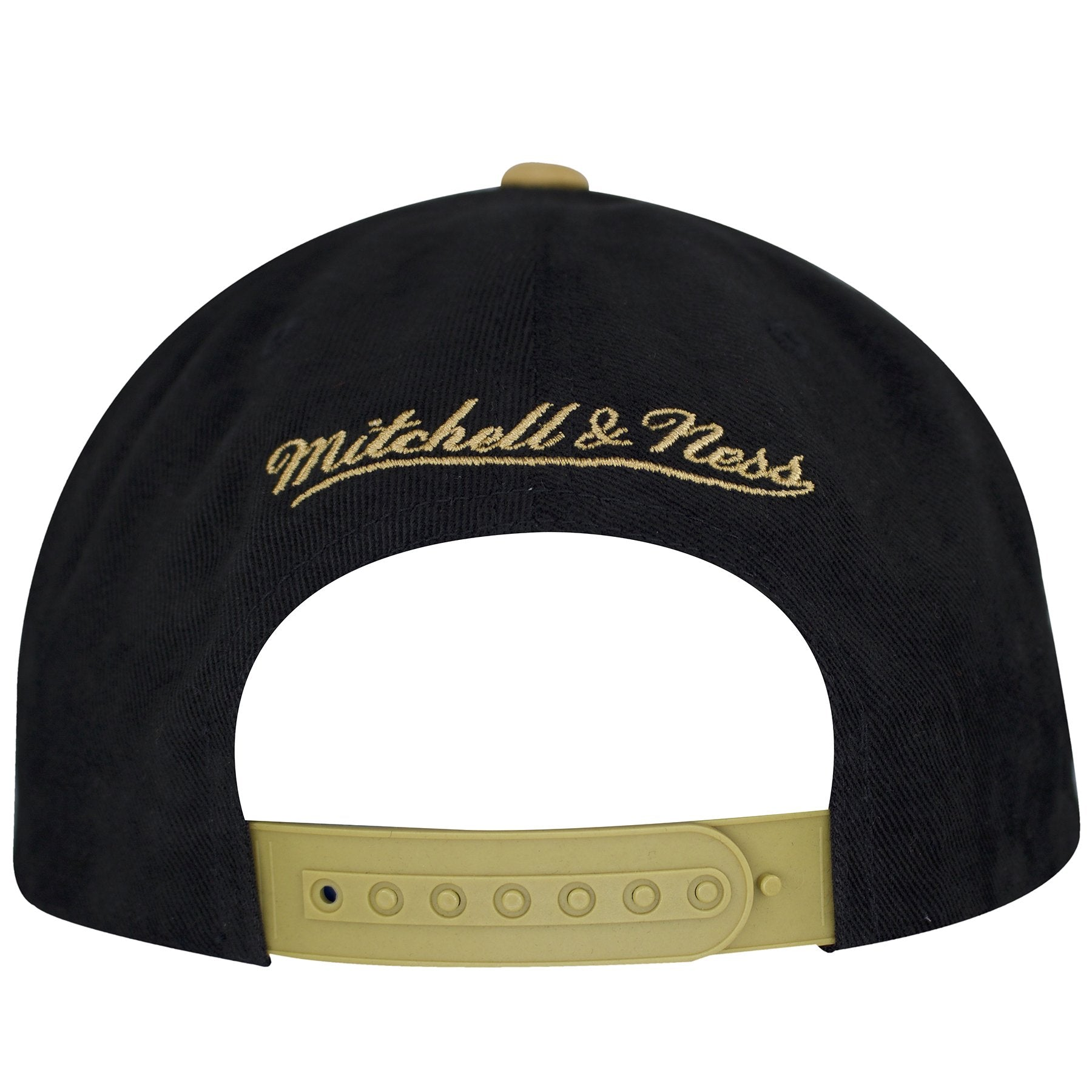 c3f6a53de ... on the back of the new orleans saints throwback special script snapback  hat is a mitchell ...