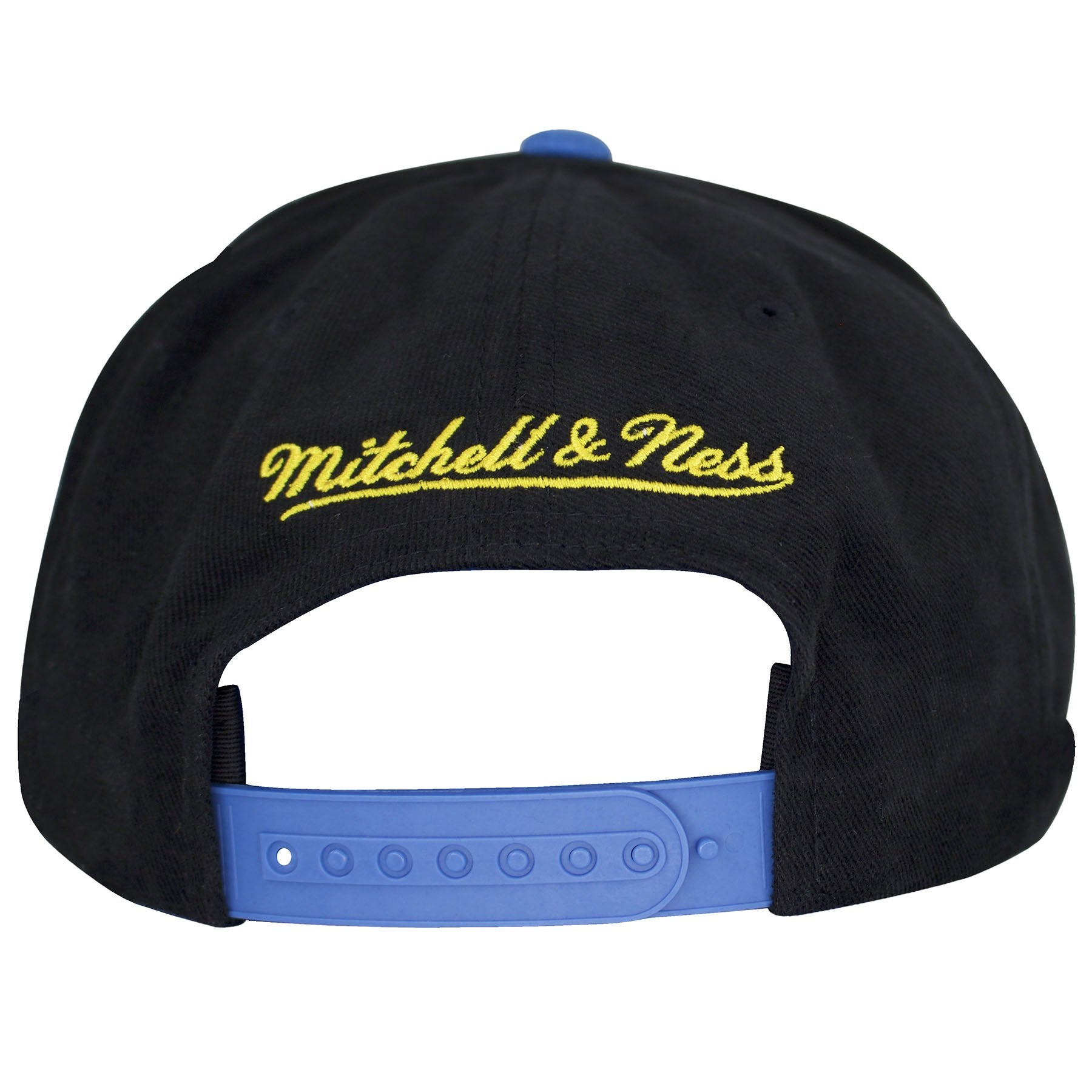 c3b32544143691 ... Right on the back is the Mitchell and Ness cursive writing embroidered  in yellow threading.