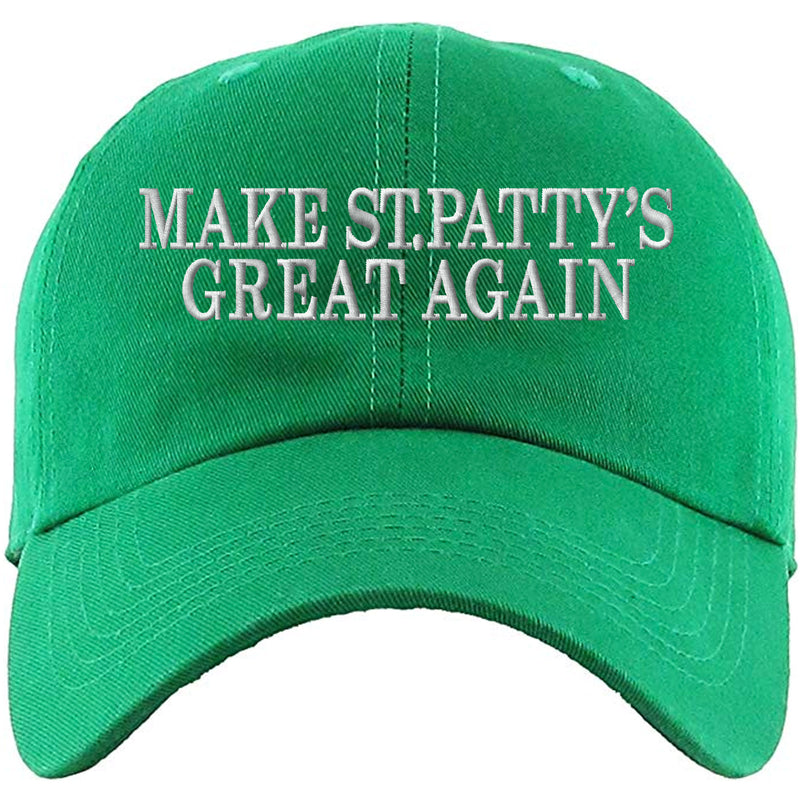 312d24be695 St. Patrick s Day Make St. Patty s Day Great Again Kelly Green Dad ...