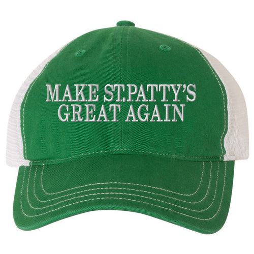 Show your Irish Pride for St.Patrick's Day with this must-have St. Patrick's Day trucker hat