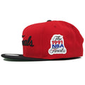 on the left side of the 1991 nba finals chicago bulls snapback hat is the 1991 nba finals patch