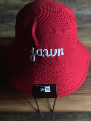 JAWN BUCKET HAT | PHILADELPHIA INSPIRED JAWN BOONIE |  Philly  jawn red