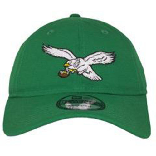 Philadelphia Eagles Vintage Logo Kelly Green Adjustable Dad Hat
