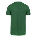 The whole back view of the Philadelphia Eagles Vintage Throwback Logo Shirt is soft kelly green