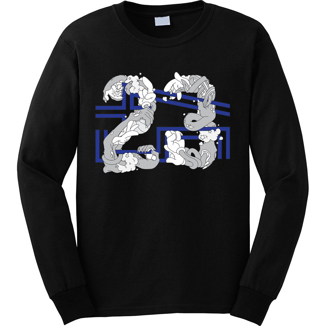 ad34f0ed00bc52 the 23 x 45 space jam 11 long sleeve tee is specially designed to match the