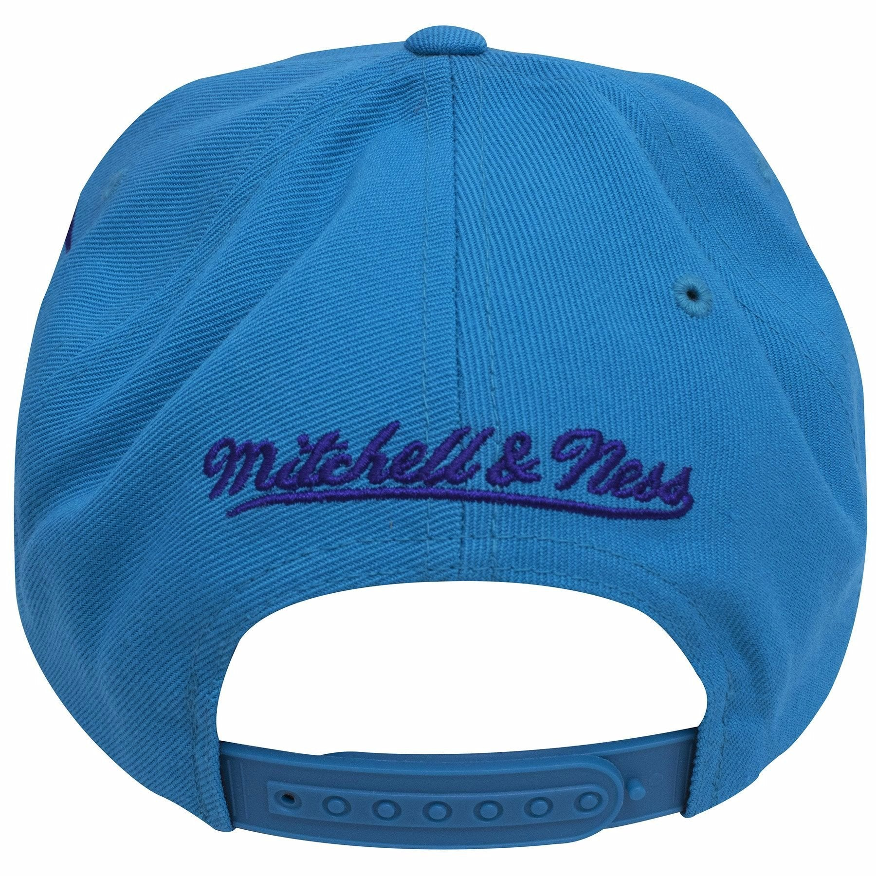 super cute 2847a e9897 norway on the back of the charlotte hornets teal diamond spikes snapback hat  is a mitchell