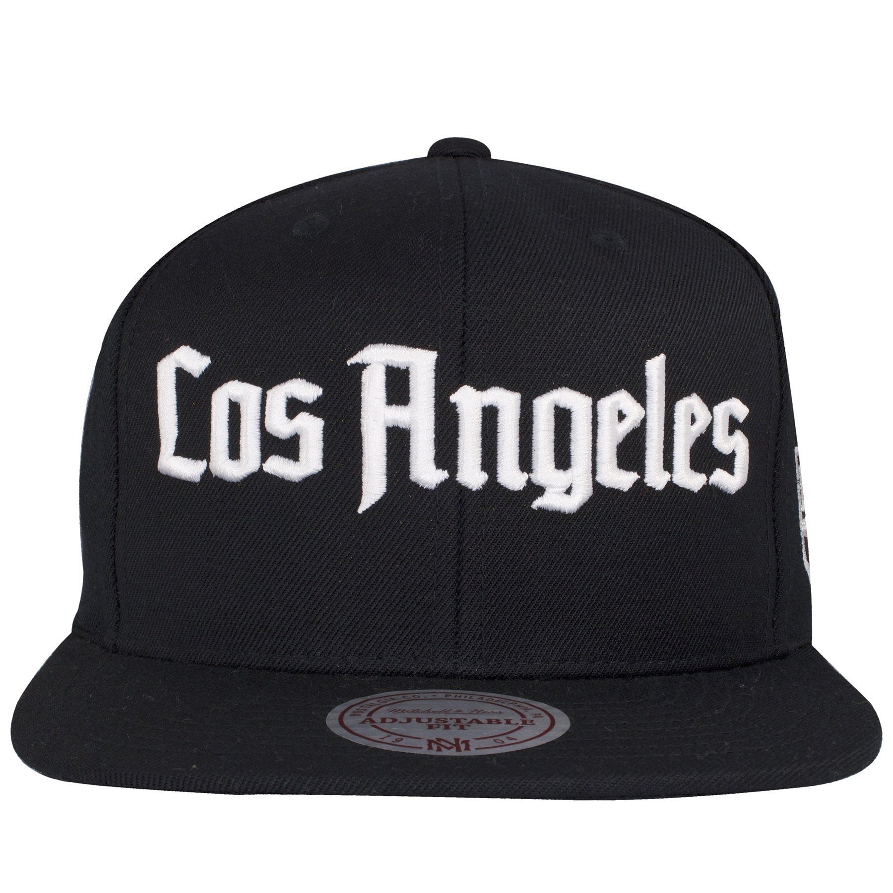 quality design 72b3f ab4df on the front of the Los Angeles Kings Old English lettering snapback hat is  the word